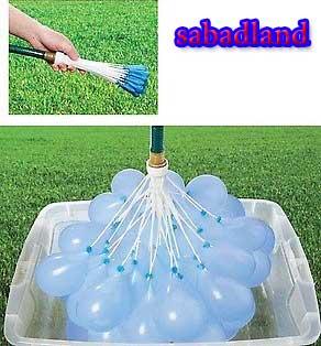 بالون آب بازی