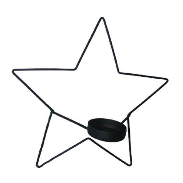 جا شمعی دیواری ستاره